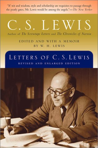 Letters of C. S. Lewis   1988 9780156027977 Front Cover