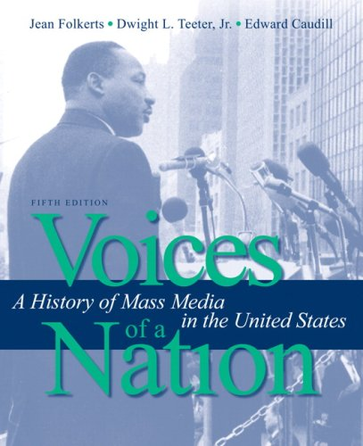 Voices of a Nation A History of Mass Media in the United States 5th 2009 edition cover