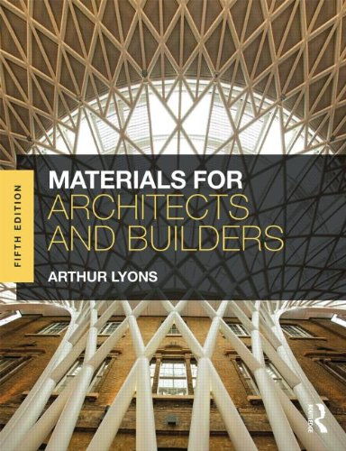 Materials for Architects and Builders  5th 2015 (Revised) edition cover