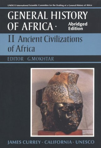 UNESCO General History of Africa Ancient Civilization of Africa Abridged  edition cover