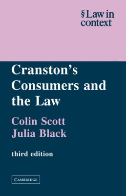 Cranston's Consumers and the Law  3rd (Revised) 9780521605977 Front Cover