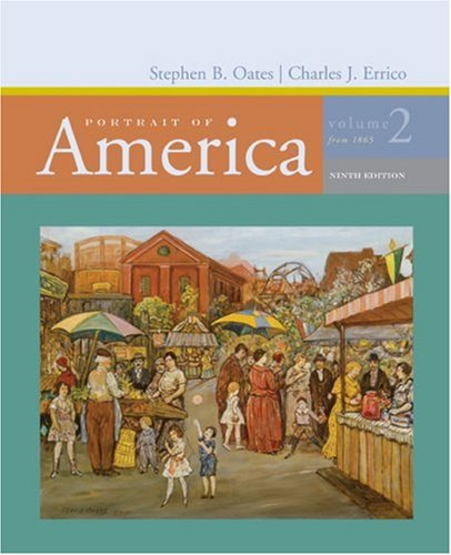 Portrait of America from 1865  9th 2007 edition cover