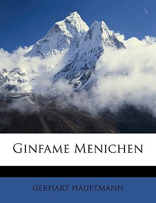 Ginfame Menichen  N/A edition cover