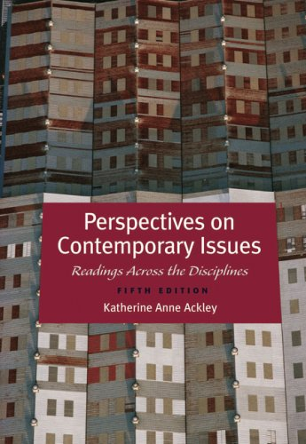 Perspectives on Contemporary Issues  5th 2009 (Revised) edition cover