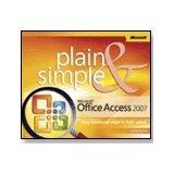 Microsoft Office Access 2007 Plain & Simple:  2008 edition cover