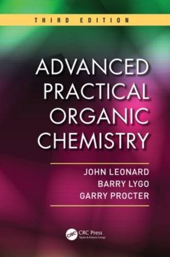 Advanced Practical Organic Chemistry, Third Edition  3rd 2013 (Revised) edition cover