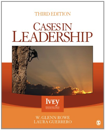Cases in Leadership  3rd 2013 edition cover