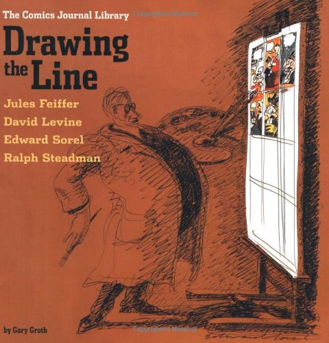 Drawing the Line   2004 9781560975977 Front Cover