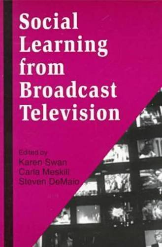 Social Learning from Broadcast Television   1998 9781572730977 Front Cover