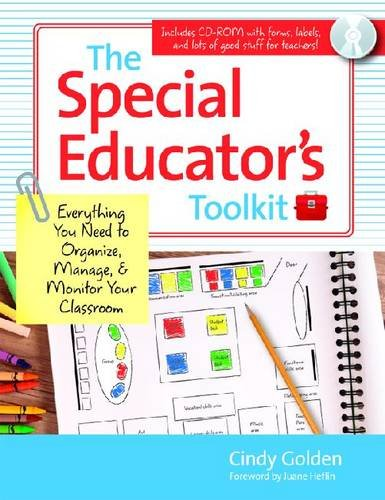 Special Educator's Toolkit Everything You Need to Organize, Manage, and Monitor Your Classroom  2011 edition cover