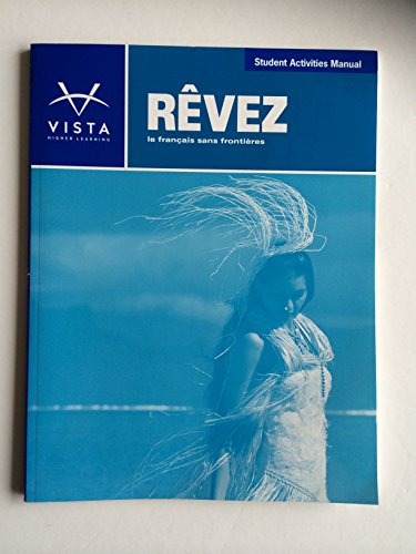 Revez Student Activities Manual  N/A edition cover