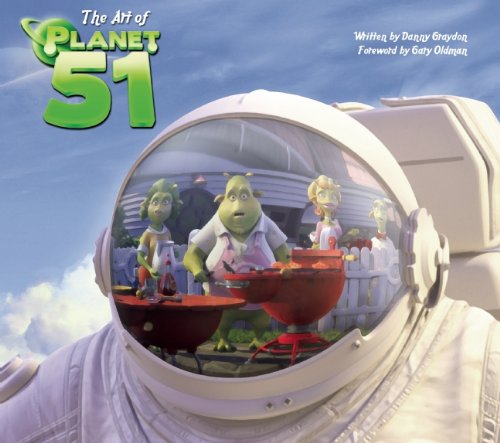 Art of Planet 51   2009 9781933784977 Front Cover