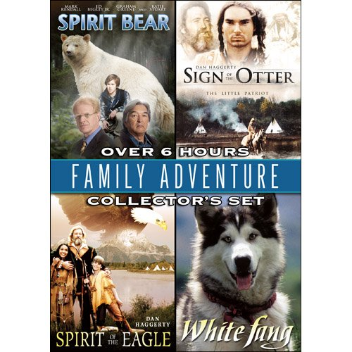 Family Adventure Collector's Set: Spirit Bear/Sign of the Otter/Spirit of the Eagle/White Fang System.Collections.Generic.List`1[System.String] artwork