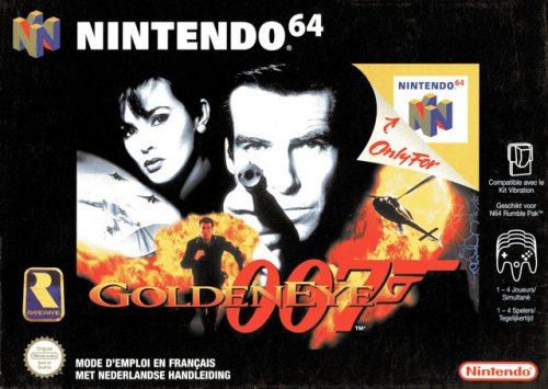 GoldenEye 007 Windows XP artwork