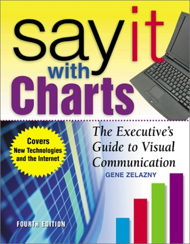 Say It with Charts The Executive's Guide to Visual Communication 4th 2001 (Revised) edition cover