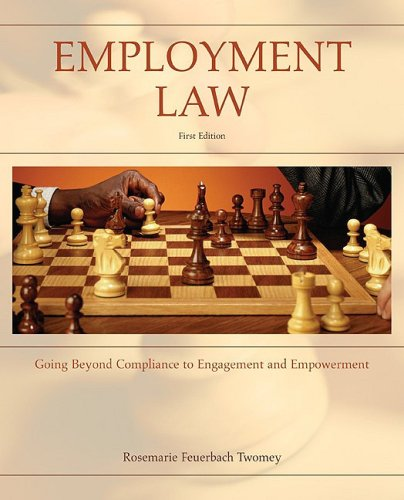 Employment Law Going Beyond Compliance to Engagement and Empowerment  2010 edition cover