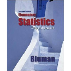 Elementary Statistics 7th 2009 edition cover
