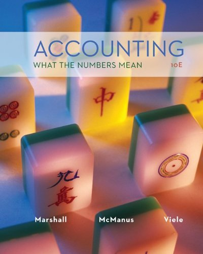 Accounting - What the Numbers Mean  10th 2014 9780077718978 Front Cover
