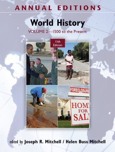 World History 1500 to the Present 11th 2012 edition cover