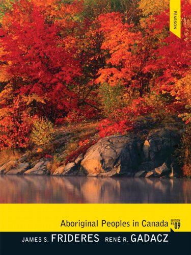Aboriginal Peoples in Canada  9th 2012 9780132161978 Front Cover
