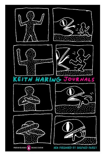 Keith Haring Journals   2010 (Deluxe) edition cover