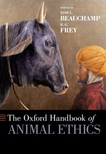 Oxford Handbook of Animal Ethics   2014 edition cover