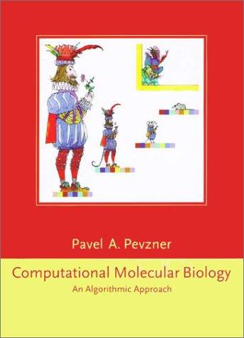 Computational Molecular Biology An Algorithmic Approach  2000 edition cover