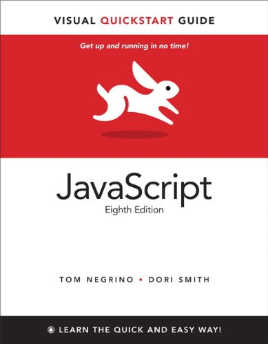 JavaScript Visual QuickStart Guide 8th 2012 (Revised) edition cover