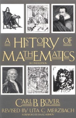History of Mathematics  2nd 1989 (Revised) edition cover