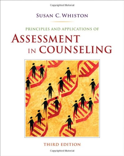 Principles and Applications of Assessment in Counseling  3rd 2009 edition cover