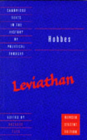 Hobbes Leviathan 2nd 1996 edition cover