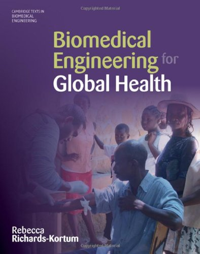 Biomedical Engineering for Global Health   2010 edition cover