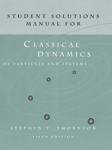 Dynamics of Particles and Systems  5th 2004 edition cover