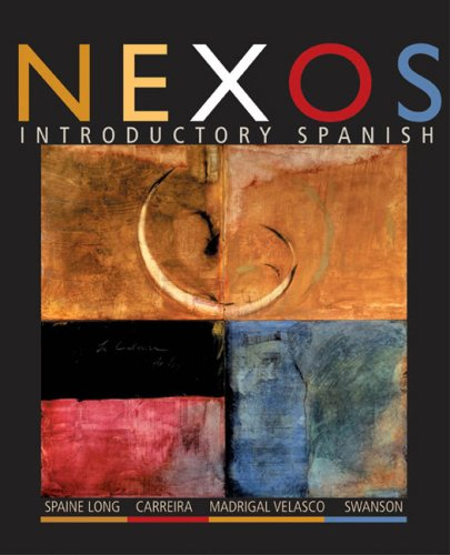 Nexos Student Text   2005 edition cover