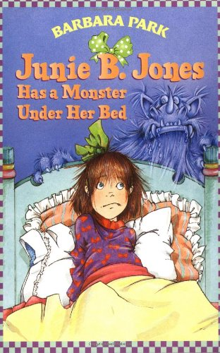 Junie B. Jones Has a Monster under Her Bed   1997 edition cover