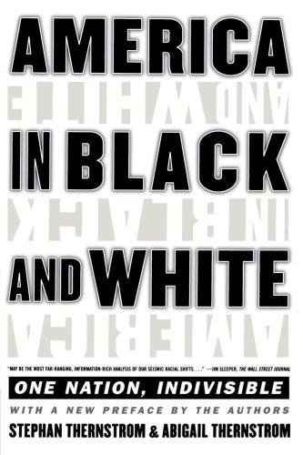 America in Black and White One Nation, Indivisible  1999 edition cover