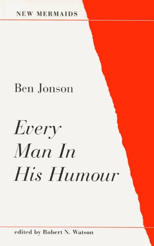 Every Man in His Humour  2nd 1998 edition cover