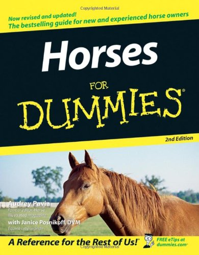 Horses for Dummies  2nd 2005 (Revised) edition cover