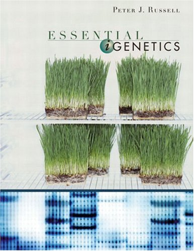 Essential IGenetics   2003 edition cover