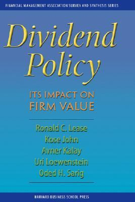 Dividend Policy Its Impact on Firm Value  1999 9780875844978 Front Cover