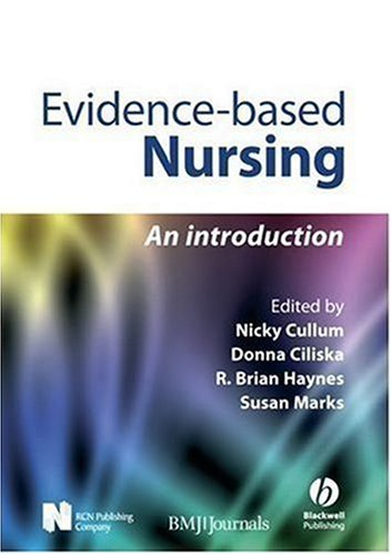 Evidence-Based Nursing An Introduction  2008 9781405145978 Front Cover