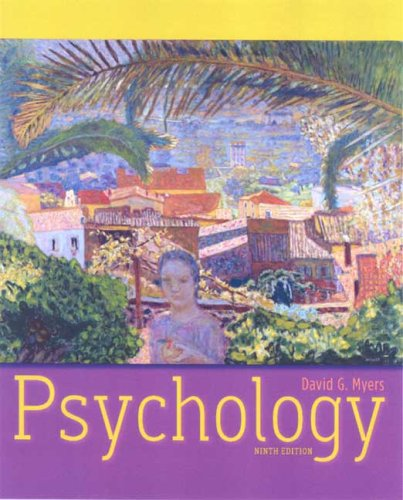 Psychology  9th 2010 9781429215978 Front Cover