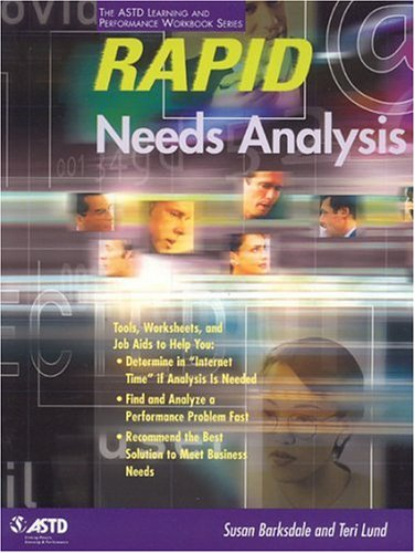 Rapid Needs Analysis   2001 9781562862978 Front Cover
