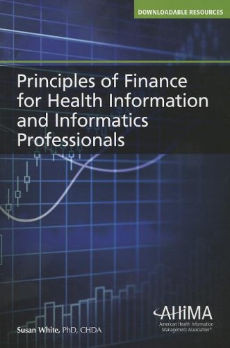 PRIN.OF FINANCE F/HEALTH INFO. N/A edition cover