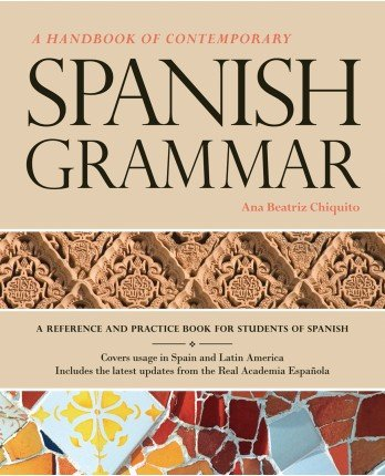 Handbook of Contemporary Spanish Grammar   2012 (Student Manual, Study Guide, etc.) edition cover