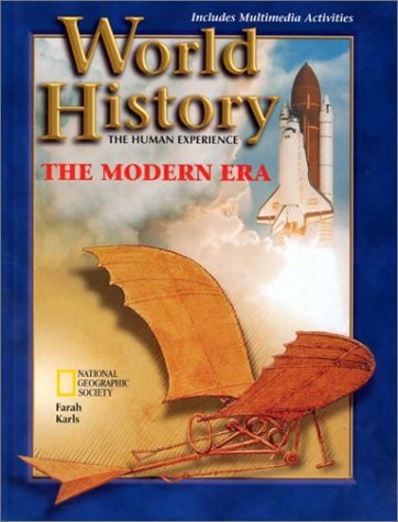 World History: The Human Experience : The Modern Era  1998 edition cover