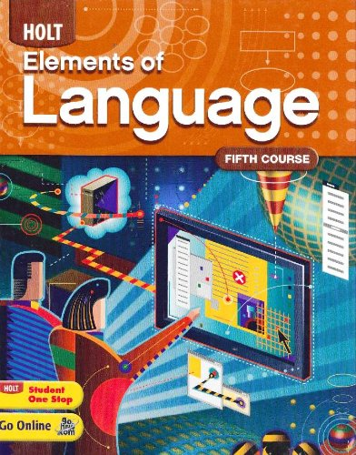 Holt Elements of Language   2009 (Student Manual, Study Guide, etc.) 9780030941979 Front Cover