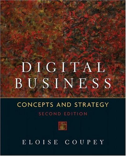 Digital Business Concepts and Strategies 2nd 2005 (Revised) edition cover