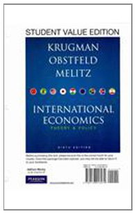 International Economics Theory and Policy, Student Value Edition 9th 2012 9780138018979 Front Cover