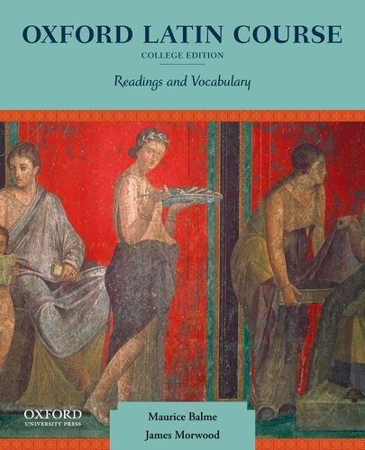 Oxford Latin Course, College Edition Readings and Vocabulary  2012 edition cover